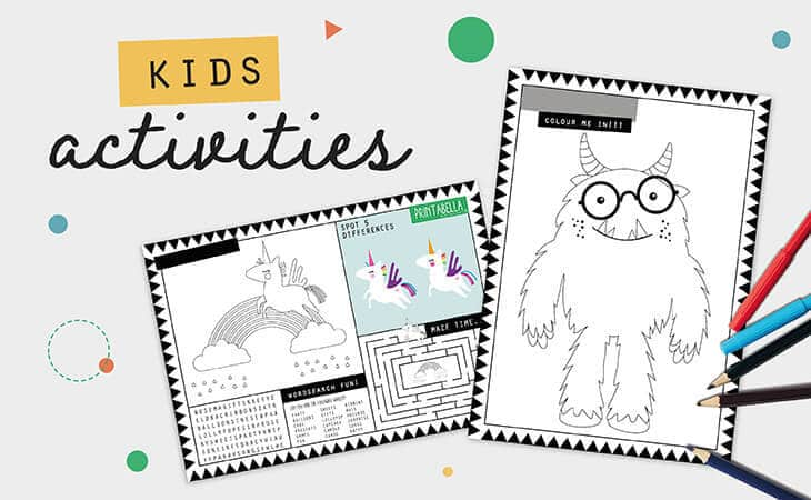 Activities for kids printable 1