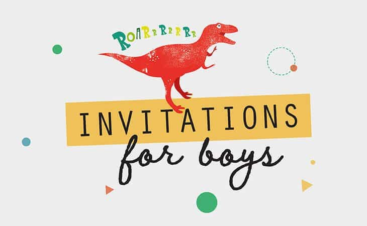 Boy Birthday Invitation Templates Collette Co