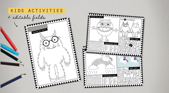 COCO WEB assets MAY COLLECTION 3 activity sheets 3