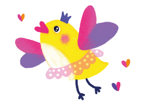 Little Tweetie Bird Character Thumbnail Collette and Co