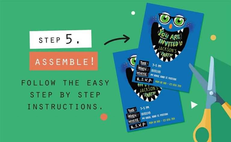 Printables Step 5 infographic Collette and Co