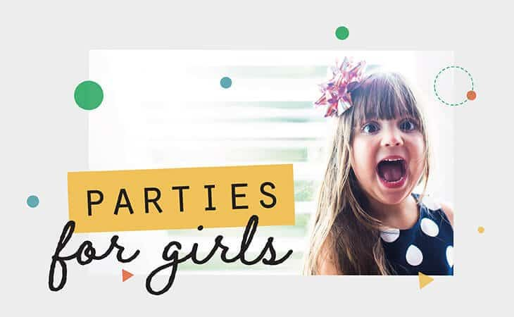 Girl Brithday party themes Collette Co