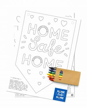 NHS Rainbow Home Safe Home Care pack for kids Collette and Co 5