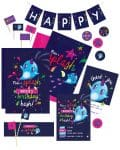 Narwhal Party Decorations Printable Editable Collette and Co 15