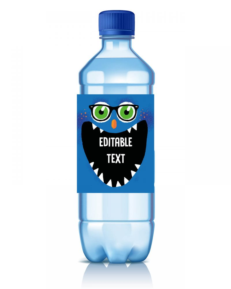 Printable Monster Party Drinks Label Editable Collette and Co 2