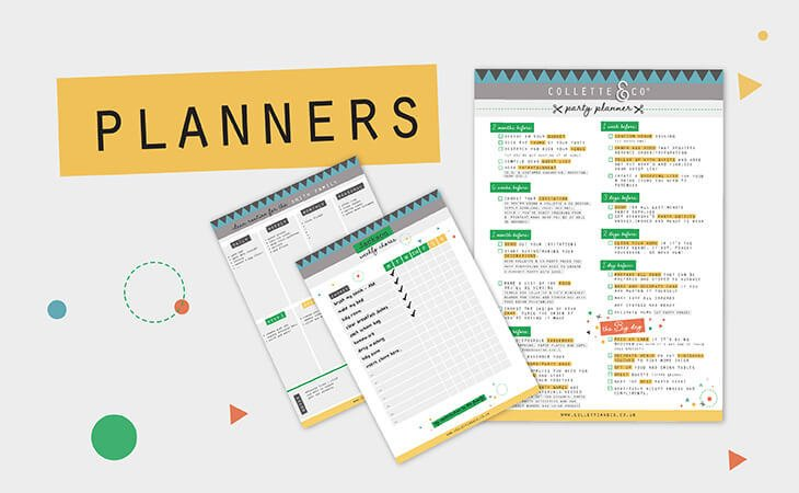 PRINTABLE AND DIGITAL PLANNERS