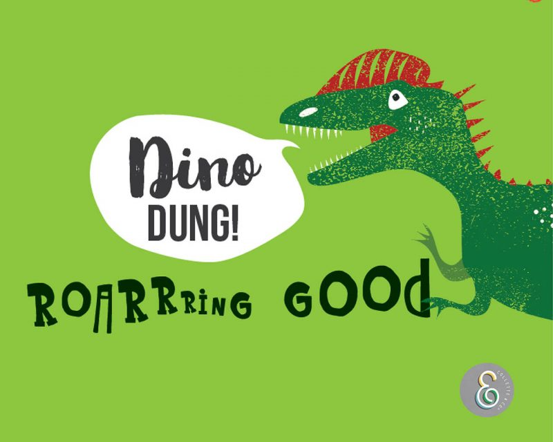 Dinosaur Dung label Editable Printable Collette and Co 4