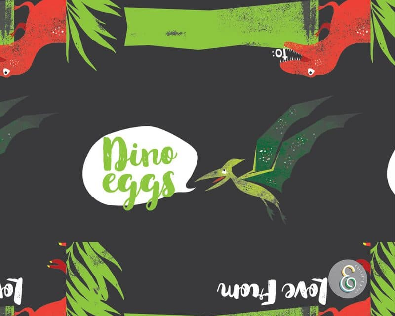 Dinosaur Egg Hunt Label Editable Printable Collette and Co 4
