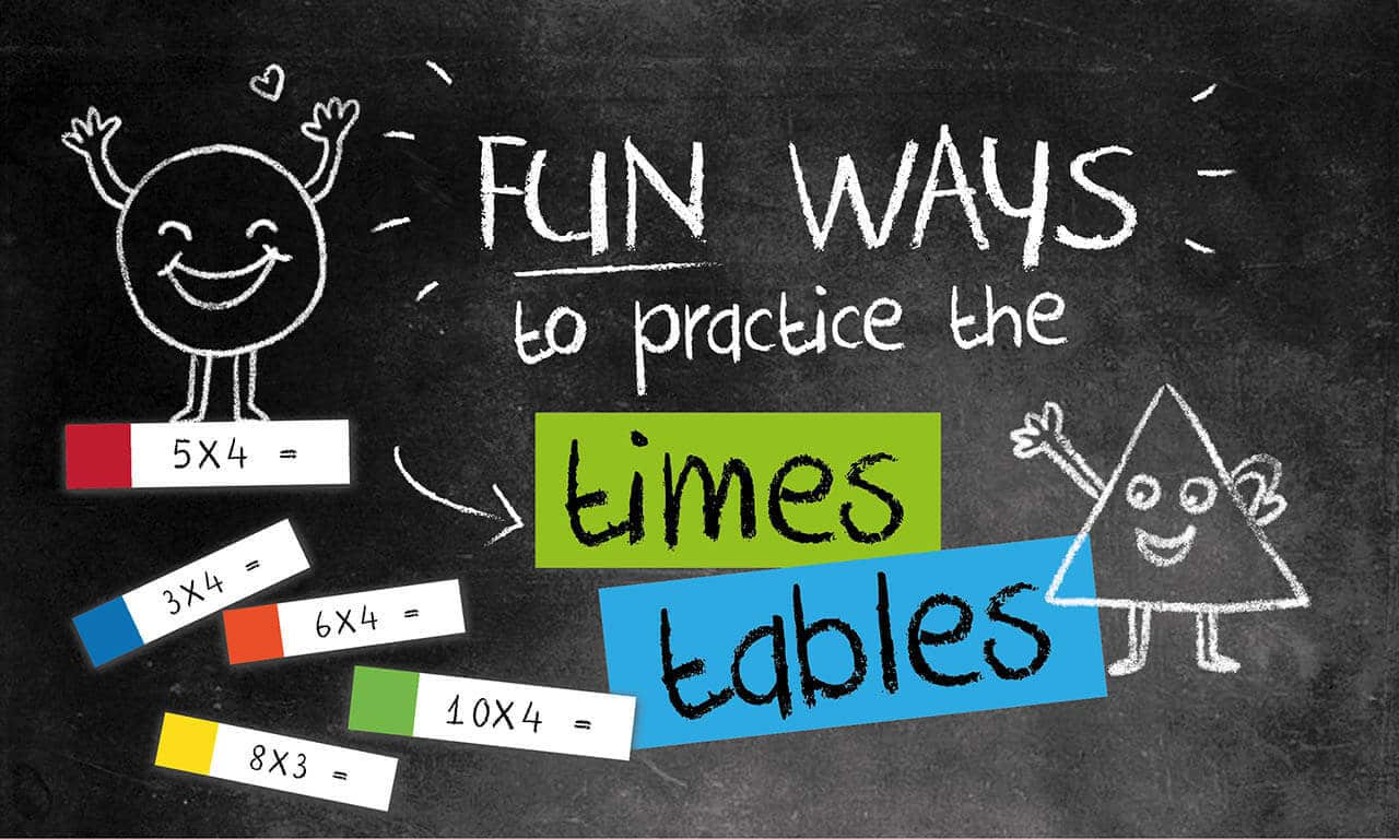 FUN WAYS TO PRACTICE TIMES TABLES 1 FUN WAYS TO PRACTICE