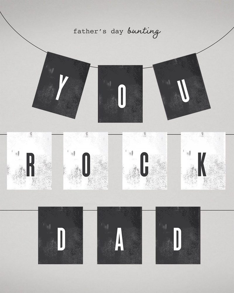 Fathers day Card and Gift Wrap bundle Collette and Co 5