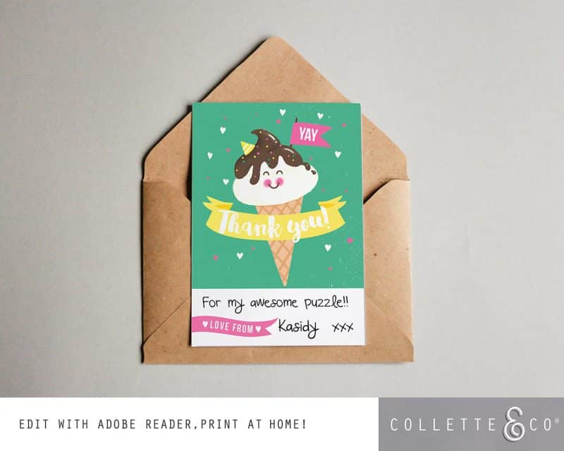 Ice Cream Party Printables Collette and Co 24