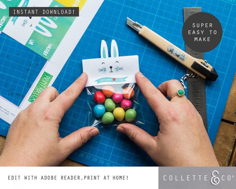 1. EASTER somebunny loves you PV 3 how to2 Easter Printables Bundle Collette and Co