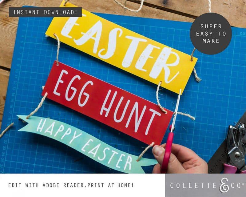 3. EASTER huntsigns PV 2 visual Easter Printables Bundle Collette and Co
