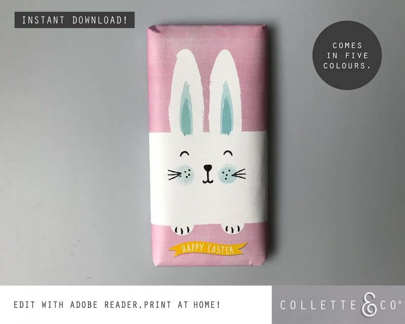 9. EASTER WRAP bunny PV 2 visualBunny Wrapping Paper Easter Gift Wrap Bunny Collette and CoBunny Wrapping Paper Easter Gift Wrap Bunny Collette and Co
