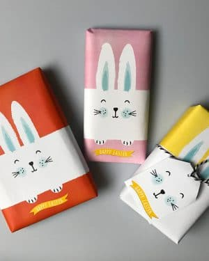 9. EASTER WRAP bunny PV WEBBunny Wrapping Paper Easter Gift Wrap Bunny Collette and CoBunny Wrapping Paper Easter Gift Wrap Bunny Collette and Co