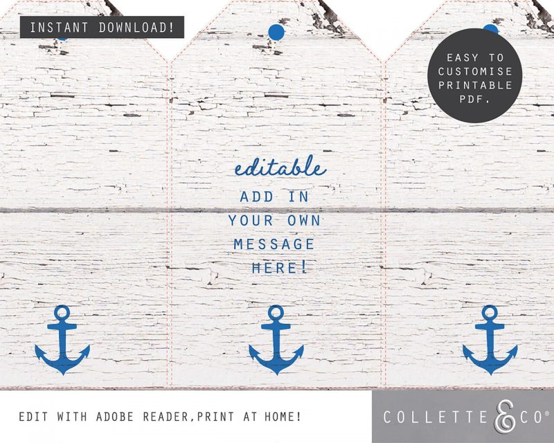 Beach Party Printables FULL Pack Editable Collette and Co 3