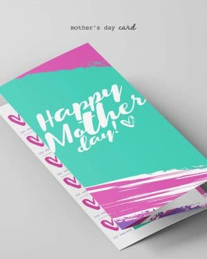 Mothers Day Card Editable Printable Collette and Co 1