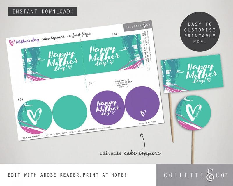 Mothers Day Printable Bundle Collette and Co 18