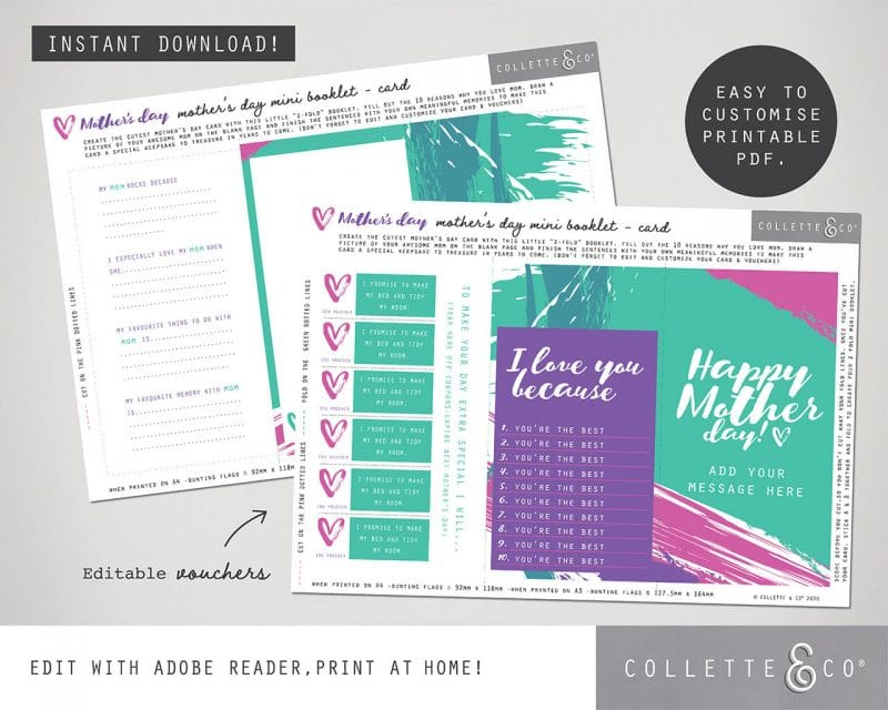 Mothers Day Printable Bundle Collette and Co 22
