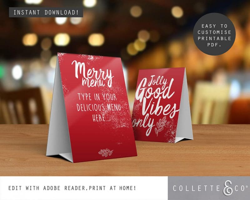 Printable Christmas Decor Bundle Collette and Co 20