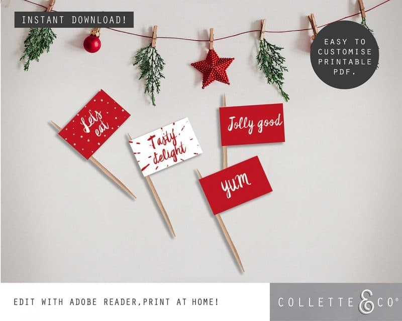 Printable Christmas Decor Bundle Collette and Co 25
