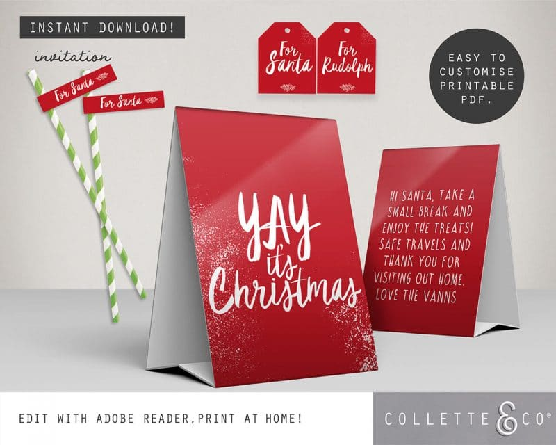 Printable Christmas Decor Bundle Collette and Co 30