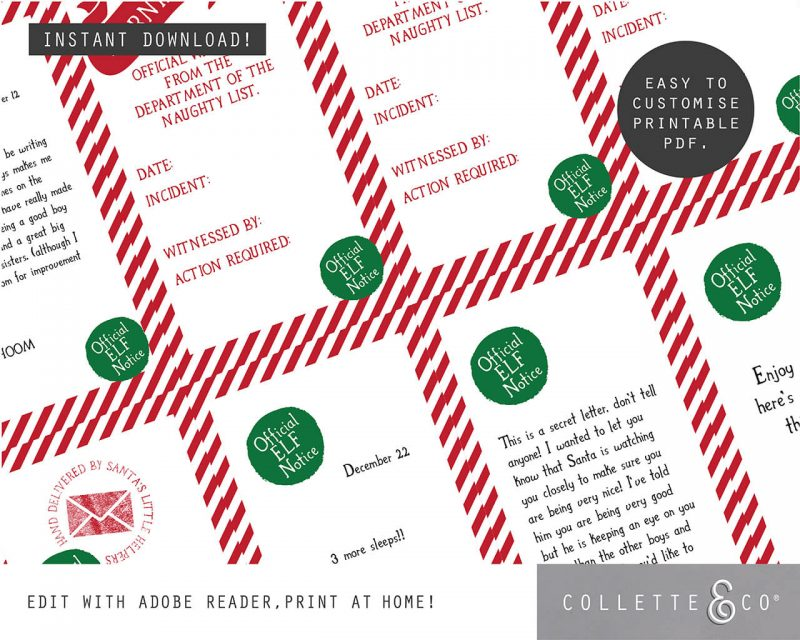 Printable Christmas Decor Bundle Collette and Co 9