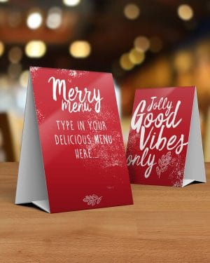 Christmas Dinner Party Printables Collette and Co 1
