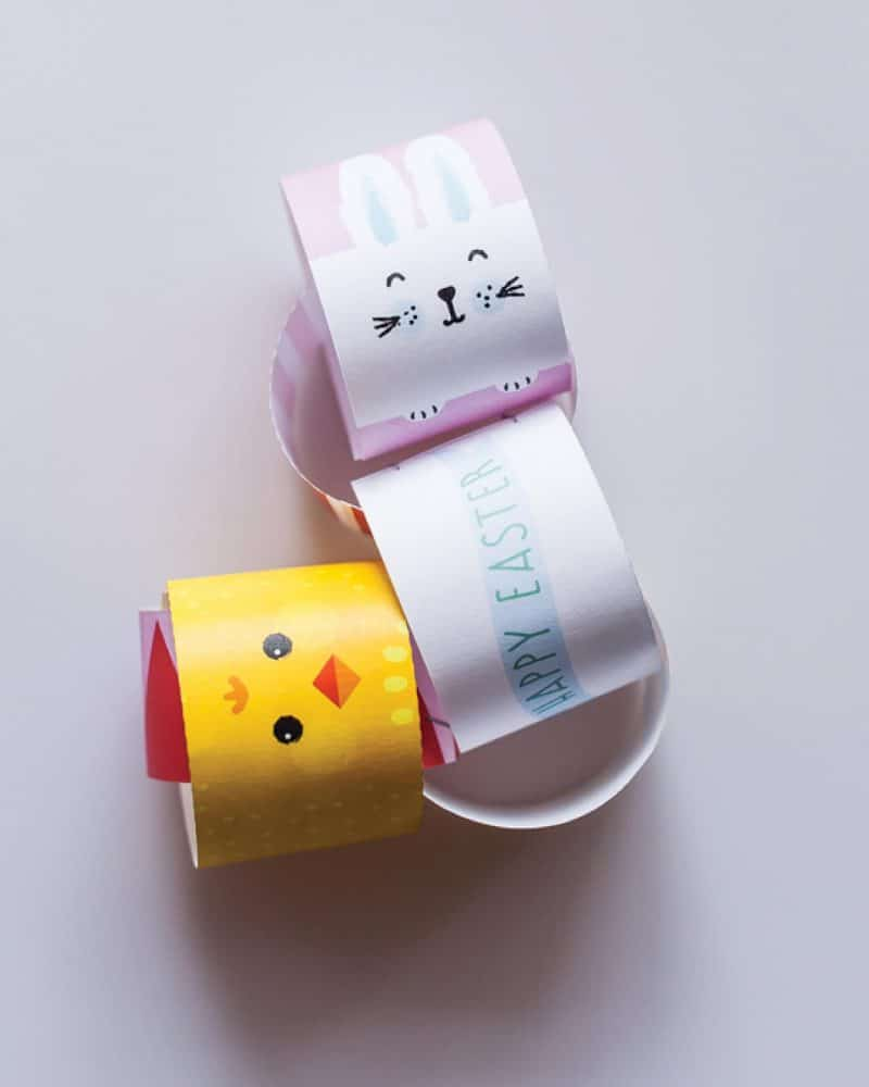 Easter Paper Chains Collette and Co 5