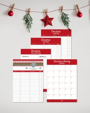Printable Christmas Planner Collette and Co 1