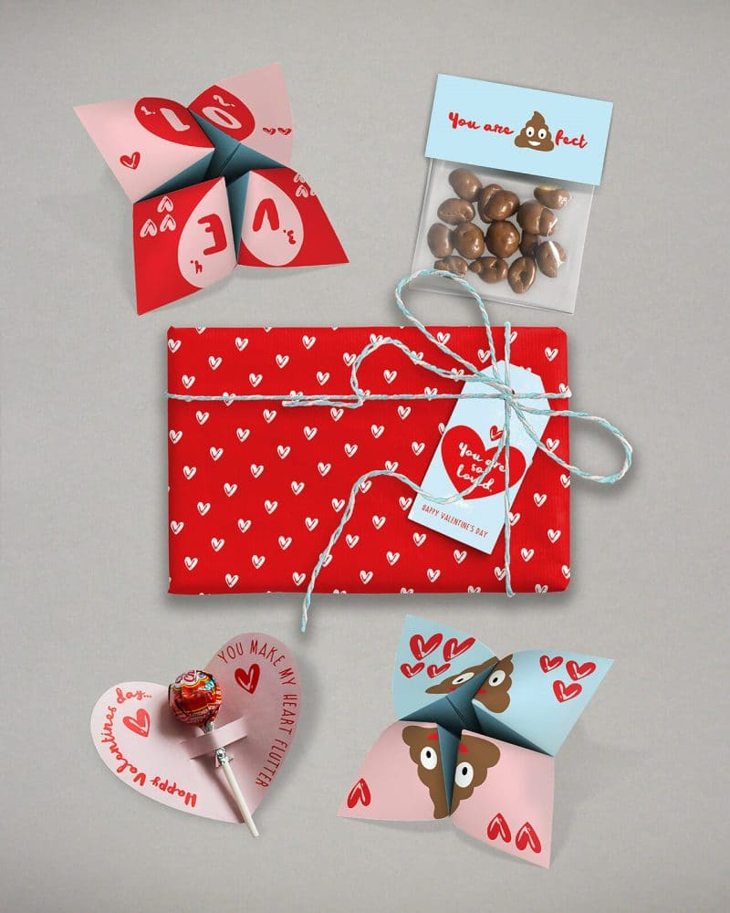 Valentines Day Bundle Editable Printable Collette and Co 1