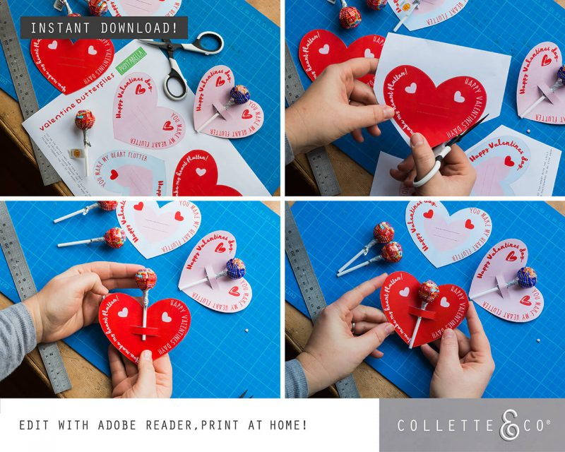Valentines Day Bundle Editable Printable Collette and Co 18