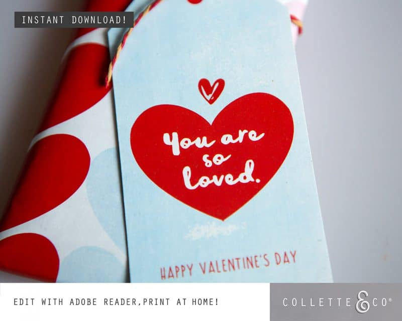 Valentines Day Bundle Editable Printable Collette and Co 27