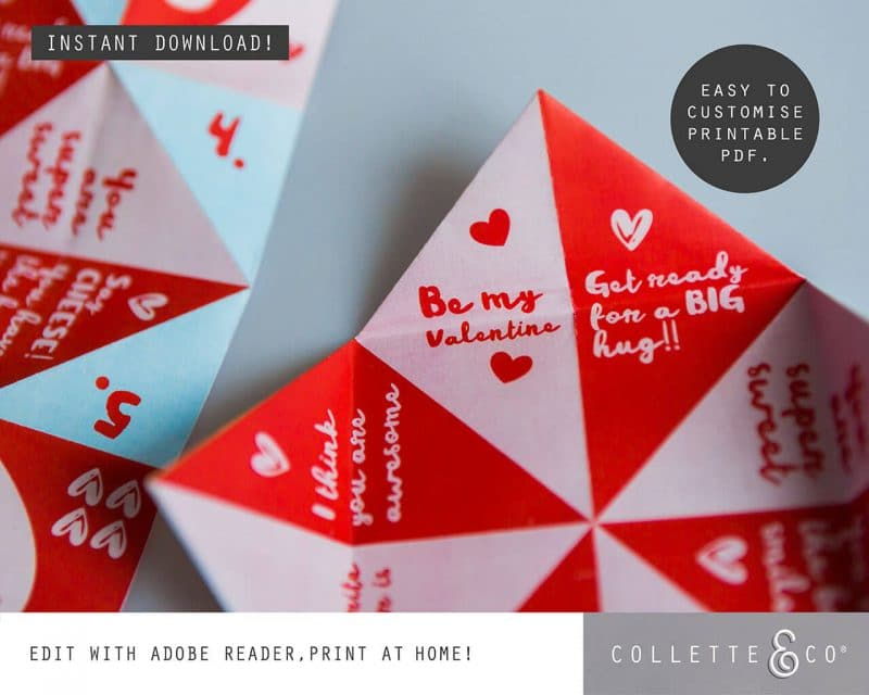 Valentines Day Fortune Teller Collette and Co 8