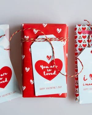 Valentines Day Gift Wrap Collette and Co 11