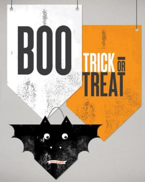 Halloween Decor Wall Flag 10