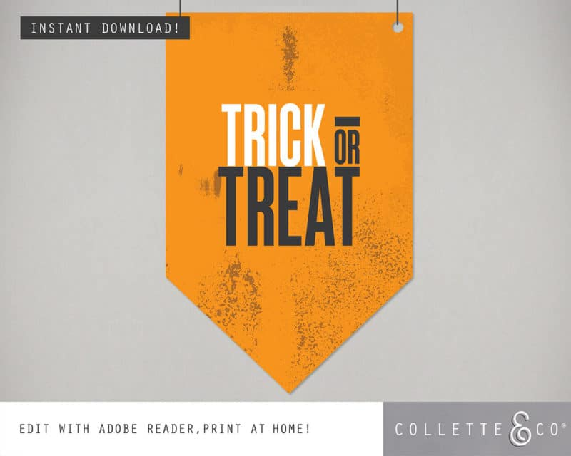 Halloween Decor Wall Flag 5