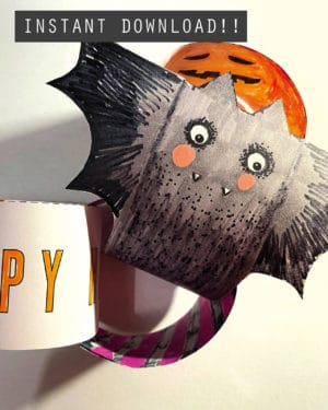 Halloween Paper Chains Printable 1