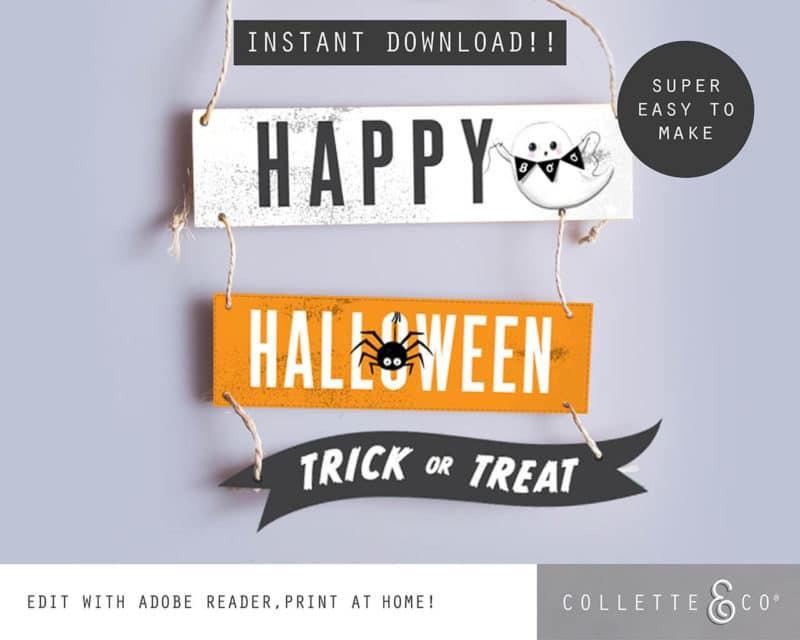Halloween Sign Happy Halloween 1