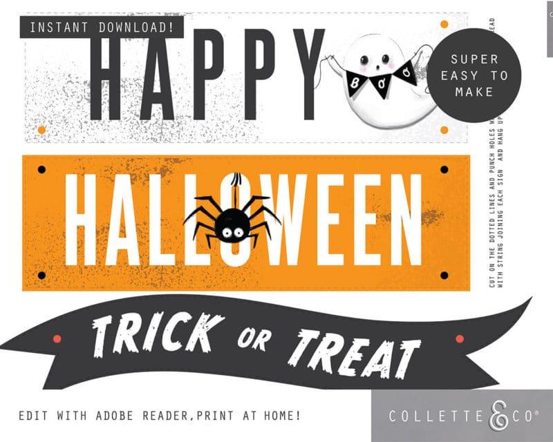 Halloween Sign Happy Halloween 2