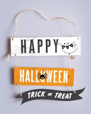 Halloween Sign Happy Halloween 3