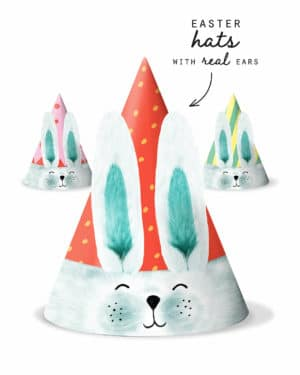 Easter Bunny Party Hat Printable Collette and co 7