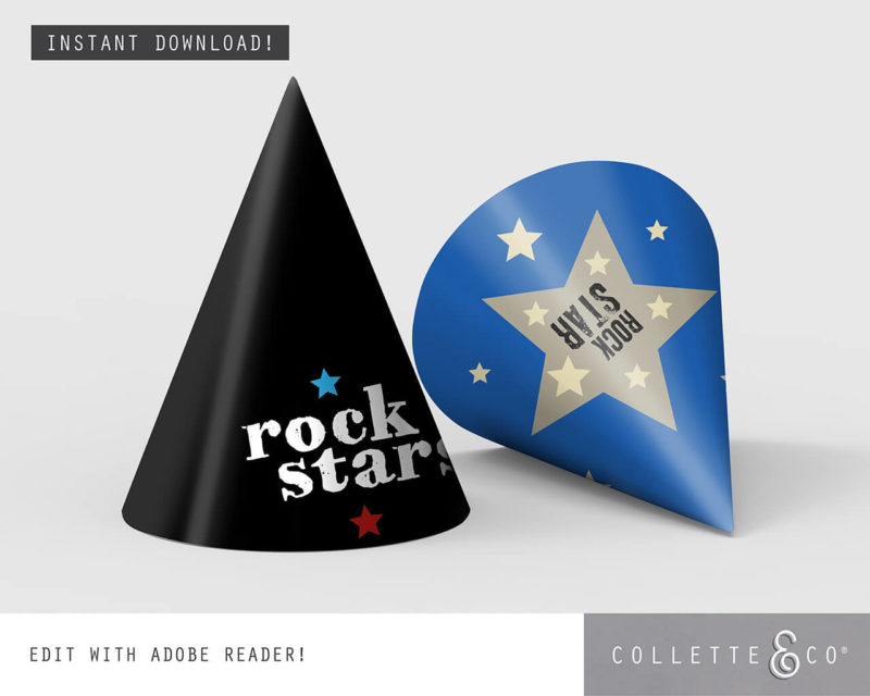 Rockstar Virtual Party Pack Collette and Co 8