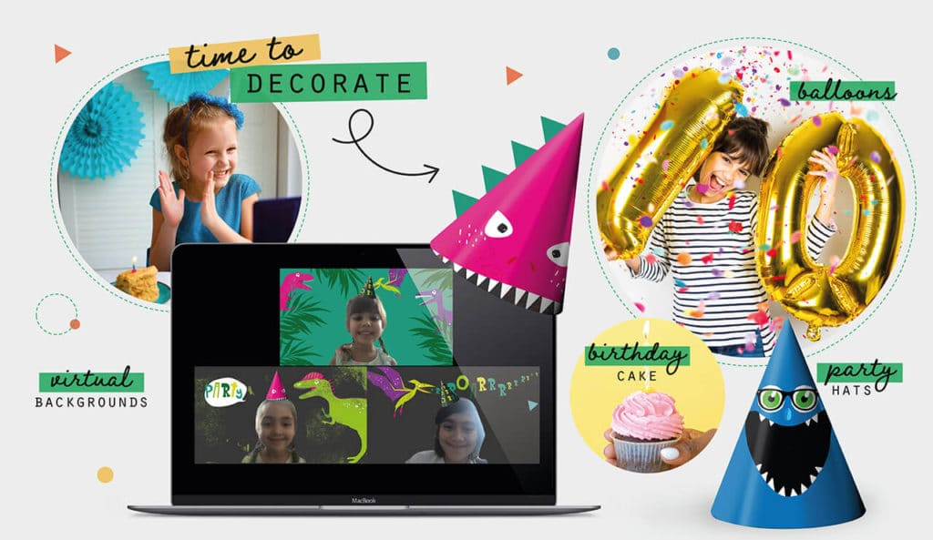 How to throw a virtual birthday party Collette and Co 10