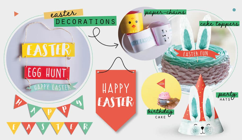 COLLETTE AND CO BLOG FUN EASTER ACTIVITIES Easter decor